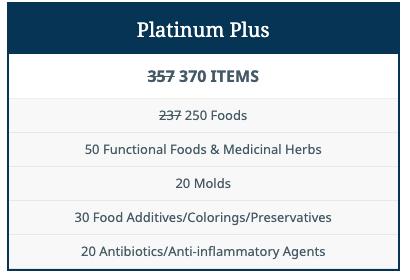ALCAT Platinum Plus