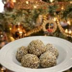 Coconut oatmeal energy balls